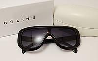 Женские солнцезащитные очки Celine CL41377 Copy черный глянец