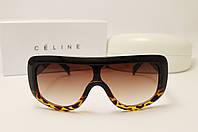 Женские солнцезащитные очки Celine CL41377 Copy коричневый лео