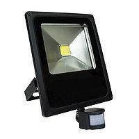 Светодиодный прожектор LED 30w c датчиком движения LUMEN