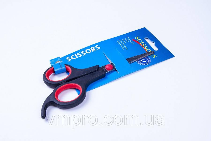 Ножиці канцелярські, №SK-071, 5.5 дюйма, ножиці офісні