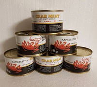 Мясо камчатского краба 250 грамм