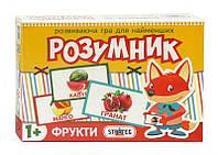 """Гр Розумник """"Фрукты"""" 409 укр. (12) """"STRATEG"""""""