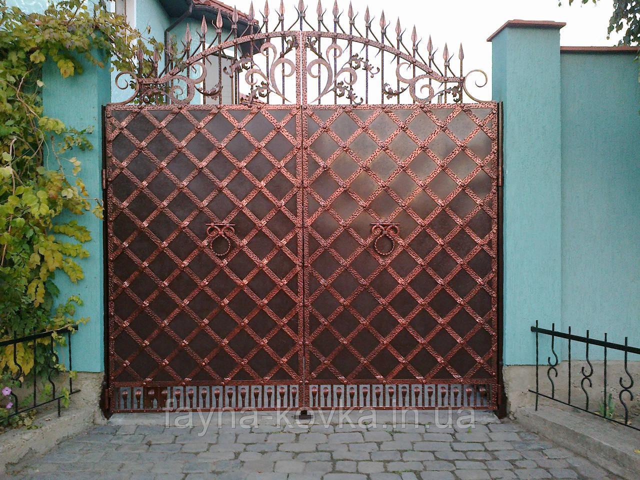 Кованные ворота 263