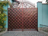 Кованные ворота 2425