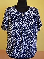 Женская блуза с натуральной ткани