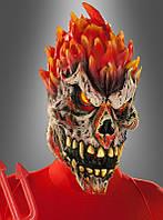 Страшная маска для образа на Хэллоуин