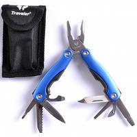 Многофункциональный нож (мультитул) MT-608 Синий