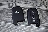 Силиконовый чехол на ключ KIA, фото 1
