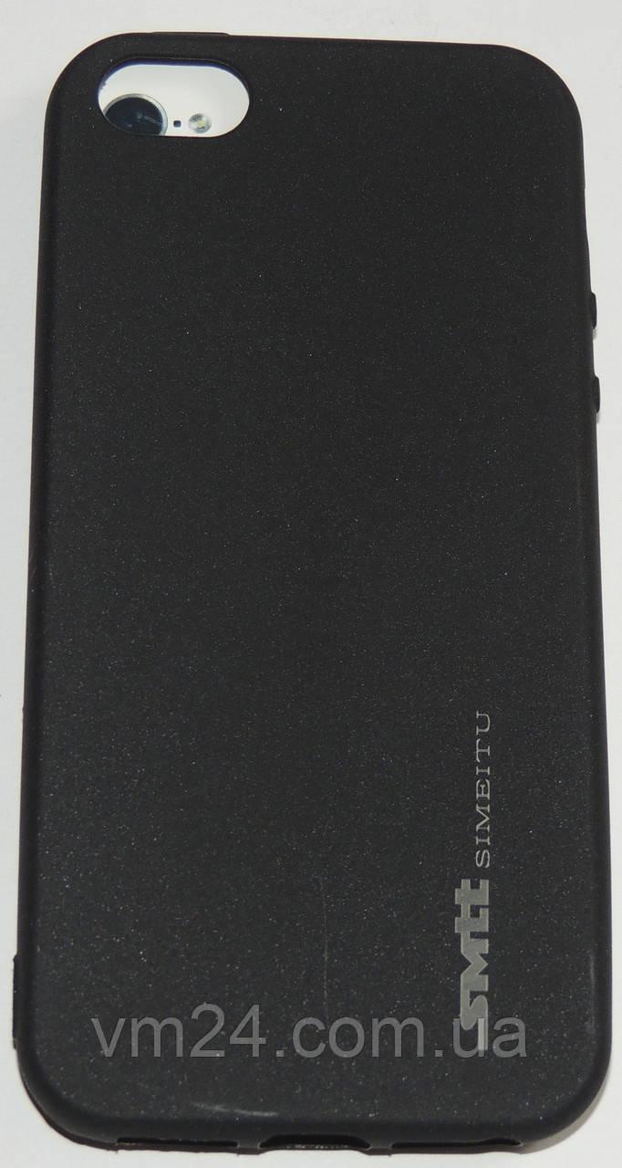 Силиконовый чехол SMTT для для iPhone 7  (черный)