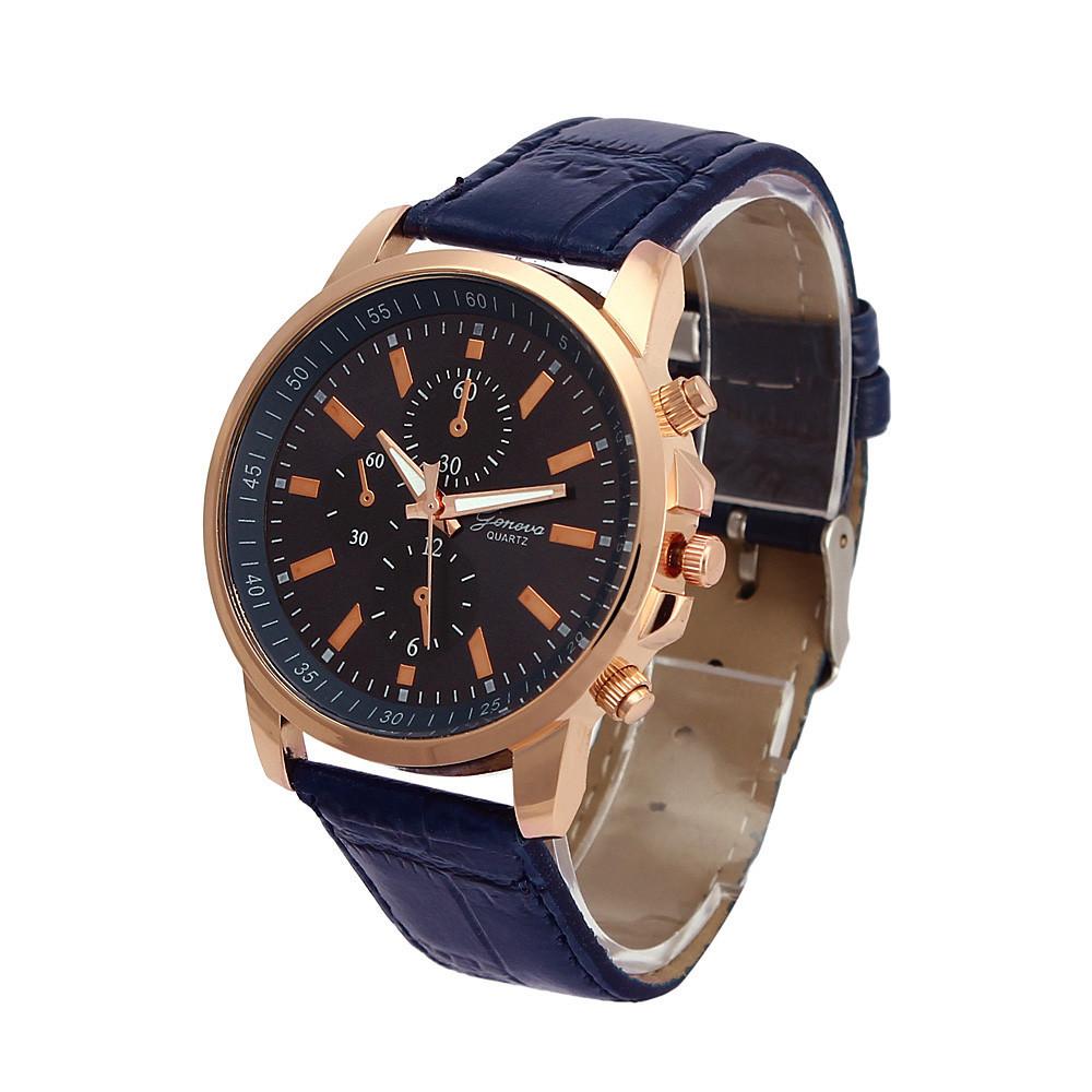 Кварцевые наручные часы Geneva Tria blue