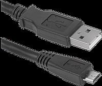 Кабель Defender microUSB USB08-06 USB2.0 AM-MicroBM 1.8м, фото 1