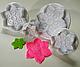 Плунжер для мастики Цветы ажурные набор 4 штук, фото 2