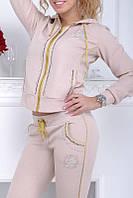 Спортивный костюм женский Турция на змейке с XS S M L XL 50 52 54 56  ас8833, фото 1