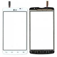 Сенсор LG D380 Optimus L80 Dual (Білий) Original