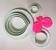 """Вирубка для мастики """"Пелюстки Троянди"""" набір з 5 форм, фото 2"""