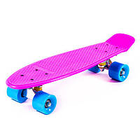 Пенни борд (penny board) SIMPLE JP-HB-11 (фиолетовый)