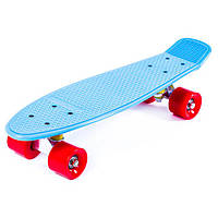 Пенни борд (penny board) SIMPLE JP-HB-11 (голубой)