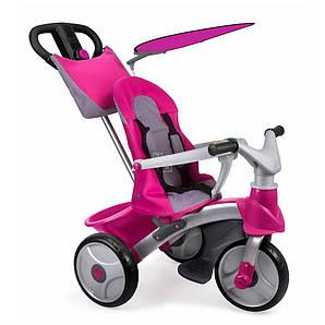 FEBER Трьохкольосный велосипед Baby Trike Easy Evolution розовый