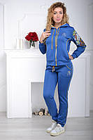 Спортивный костюм женский Турция на змейке  ас8834