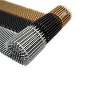"""Решетка для конвектора внутрипольного """"металл"""" 170мм, 1000мм"""