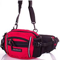 Сумка поясная Onepolar Мужская сумка через плечо или на пояс ONEPOLAR (ВАНПОЛАР) W3061-red