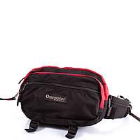 Сумка поясная Onepolar Мужская сумка через плечо или на пояс ONEPOLAR (ВАНПОЛАР) W862-red
