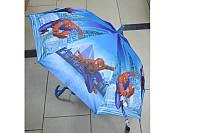 Зонт трость для мальчика Человек Паук
