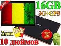 Планшет Навигатор LENOVO B960 10 дюймов Android 6 ядер 16 gb 1gb GPS IPS 3G wi fi 2 sim