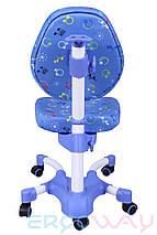 Детское компьютерное ортопедическое кресло растишка Ergoway M350 blue, фото 2