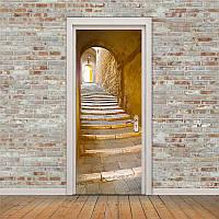 3D наклейка на двери-Новинка