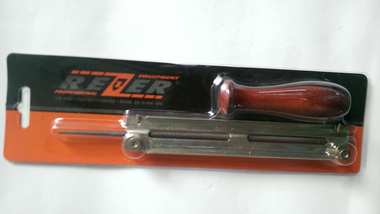 """Планка для напильника 4,0 мм в блистере Rezer - """"Instro-group"""" интернет-магазин инструмента в Днепре"""