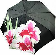 Шикарный женский зонт, полный автомат Doppler 34521 Орхидея, система антиветер