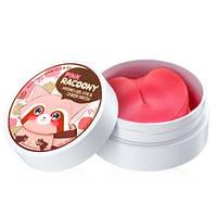 Secret Key Pink Racoony Hydro Gel Eye + Cheek Patch Гидрогелевые патчи для глаз и щек
