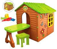 Акция! Домик Mochtoys + столик + стульчик