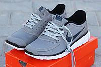 Мужские кроссовки Nike Free Run 5.0, серые / кроссовки мужские Найк Фри Ран 5.0, плотная сетка, модные