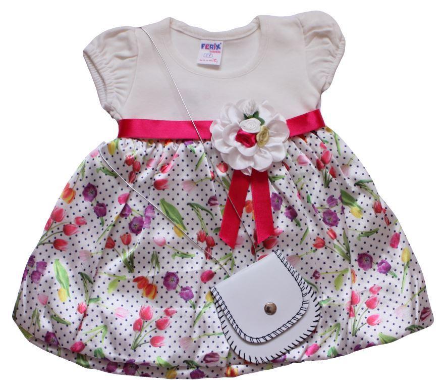 Платье на девочку тюльпан