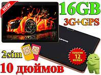 IPS Планшет Смартфон LENOVO B960 10 дюймов IPS экран андроид 16 гб 1 гб 3G GPS Wi Fi 2 sim