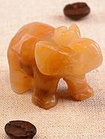 Слон Яшма 40х20х30мм.