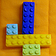 """Молд силиконовый """"Лего набор №2"""" 8,0 см 7,2 см, фото 3"""