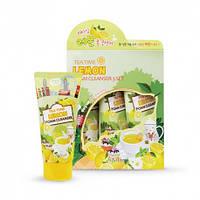 Пенка для умывания с лимоном Esfolio Tea Time Lemon Foam Cleanser