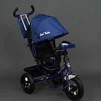 Трехколесный детский велосипед Best Trike 6588B (2017) (надувные колеса & фара)