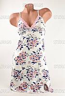 Женская ночная рубашка Турция. PinkSecret 0192 M. Размер 44-46.