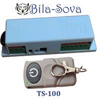 Радиоконтроллер TS-100 комплект с 1 брелком, дальность до 150 м., Tesla Security