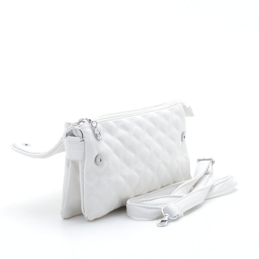 2b5d84f0e236 Модный стеганый оригинальный клатч , белый: продажа, цена в ...