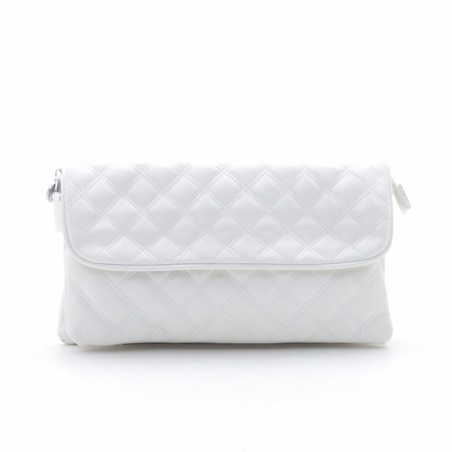 30ecda44cf16 Модный стеганый оригинальный клатч , белый, цена 265 грн., купить ...