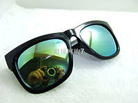 Очки солнцезащитные Wayfarer Ray Ban стиль 1032 Green gold
