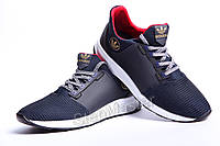 Кроссовки кожаные Adidas Trainers Blue сетка
