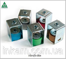 Виброкрепления Vibrofix Box 28 шумоизоляция воздуховодов, трубопроводов, оборудования