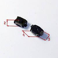 КНОПКА ТАКТОВАЯ SMD 2 PIN 3*4*2 3x4x2 мм