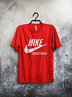 Футболка мужская Nike (красная)